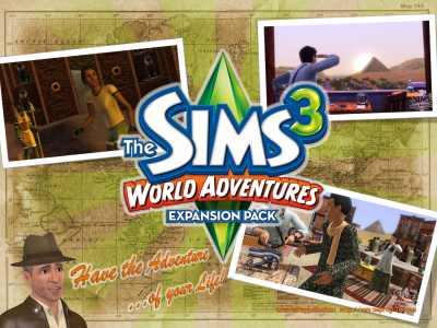 The Sims 3:World Adventure